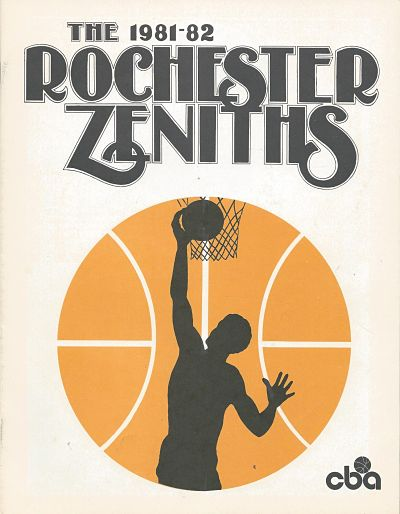1981 Rochester Zeniths Program