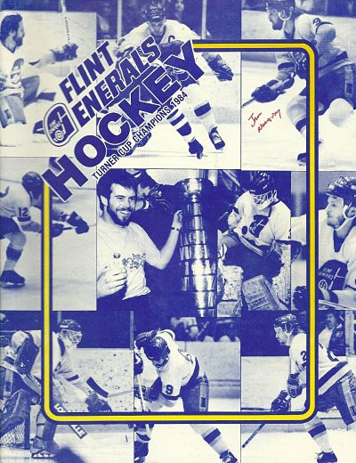 1984-85 Flint Generals Program