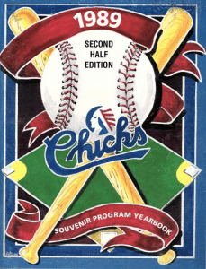 1989 Memphis Chicks Program