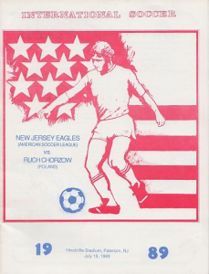 1989 New Jersey Eagles Program