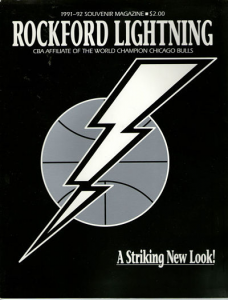 1991-92 Rockford Lightning Program