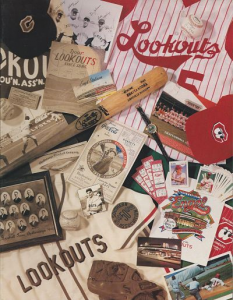 1993 Chattanooga Lookouts Program