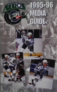 Houston Aeros Media Guide