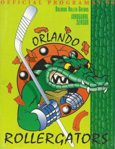 Orlando Rollergators Program