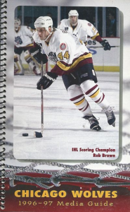 Rob Brown Chicago Wolves