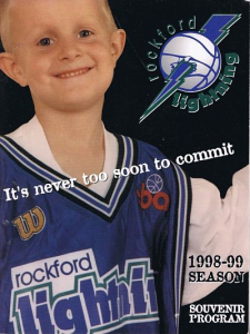 1998-99 Rockford Lightning Program