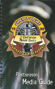 Chicago Wolves Media Guide