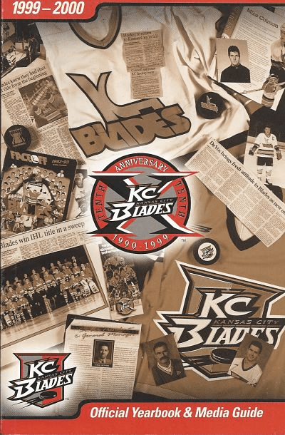 1999-00 Kansas City Blades Media Guide