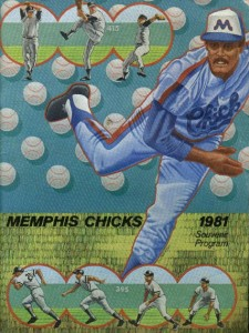 1981 Memphis Chicks Program
