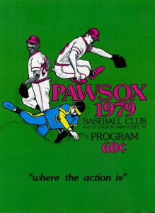 1979 Pawtucket Red Sox Program