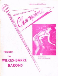 1967-68 Scranton Miners Program
