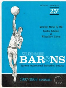 1967-68 Wilkes-Barre Barons Program