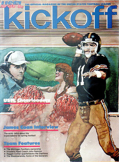 1983 Los Angeles Express Program