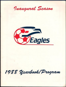 1988 New Jersey Eagles Program
