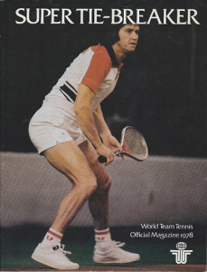 1978 World Team Tennis Program