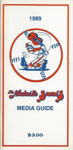 Nashville Sounds Media Guide
