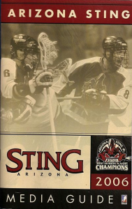 2006 Arizona Sting