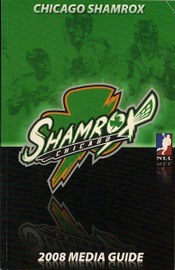 Chicago Shamrox Media Guide