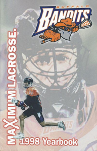 Buffalo Bandits Yearbook