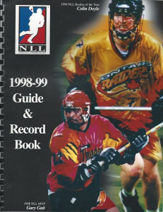 National Lacrosse League Media Guides