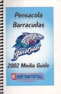 Pensacola Barracudas Media Guide