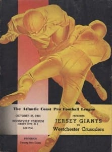Jersey Giants Program