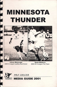 Minnesota Thunder Media Guide