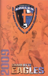 2009 Charlotte Eagles Program