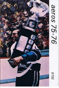 1975-76 Houston Aeros Media Guide