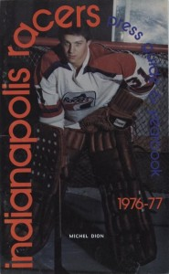 1976-77 Indianapolis Racers Media Guide