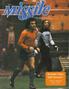 Wichita Wings vs. Pittsburgh Spirit. April 1, 1984