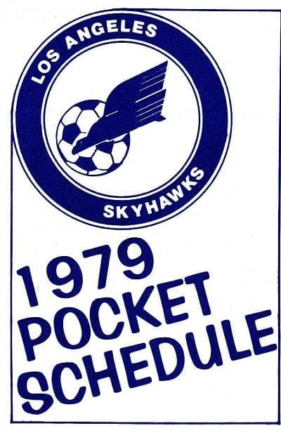 1979 Los Angeles Skyhawks Pocket Schedule