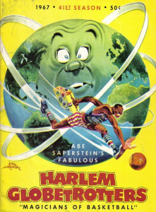 1967 Harlem Globetrotters Yearbook