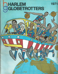1971 Harlem Globetrotters Yearbook