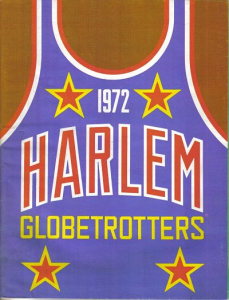 1972 Harlem Globetrotters Yearbook