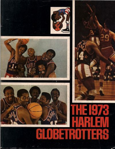 1973 Harlem Globetrotters Yearbook