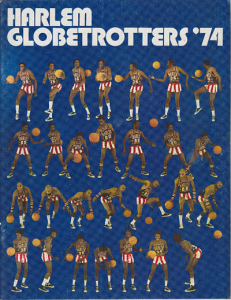 1974 Harlem Globetrotters Yearbook
