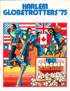 1975 Harlem Globetrotters Yearbook