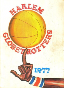 1977 Harlem Globetrotters Yearbook