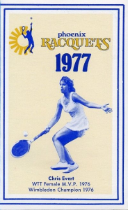 Chris Evert Phoenix Racquets