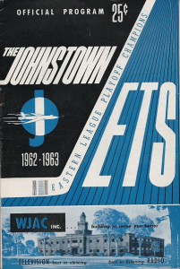 1962-63 Johnstown Jets Program