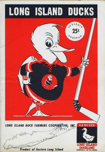 1963-64 Long Island Ducks Program