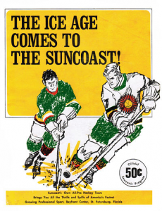 1971-72 Suncoast Suns Program