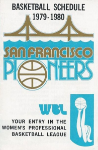 1979-80 San Francisco Pioneers Pocket Schedule