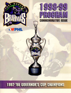 Fort Worth Brahmas Program