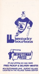 Kentucky Bourbons Softball