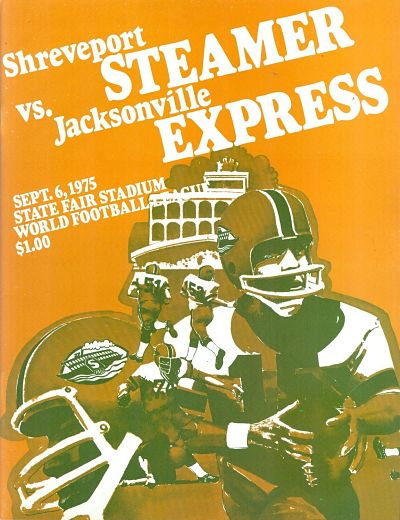 Shreveport Steamer at Jacksonville Express. September 6, 1975