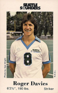 Roger Davies Seattle Sounders