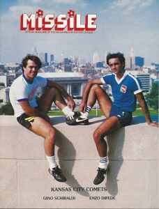 Los Angeles Lazers vs. Kansas City Comets. April 2, 1983