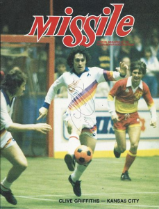 1983-84 Los Angeles Lazers vs. Kansas City Comets. March 11, 1984